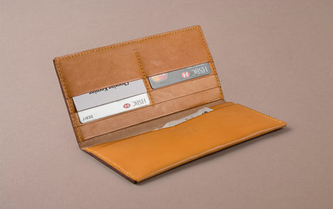 Camel Choosing Keeping Large Slim Wallet