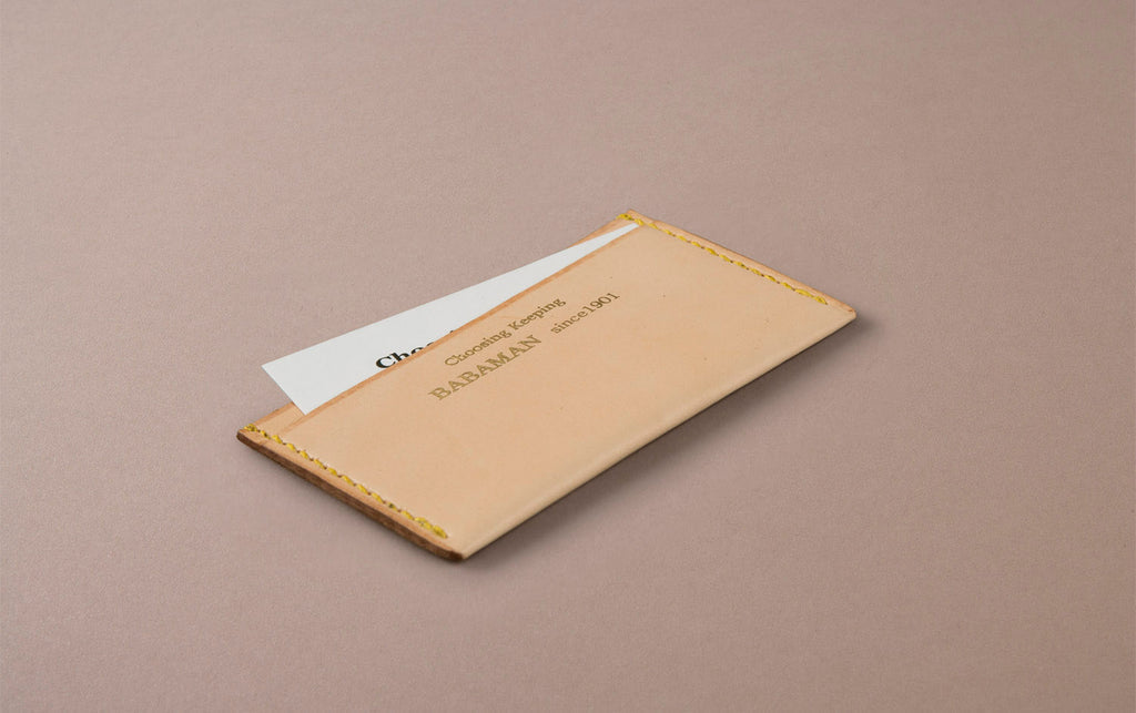 Natural Choosing Keeping Card Holder