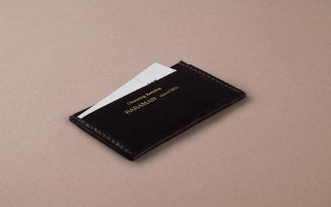 Black Choosing Keeping Card Holder