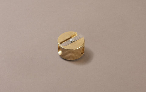 Brass Double Pencil Sharpener
