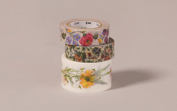 Flower patterns - MT Masking Tape