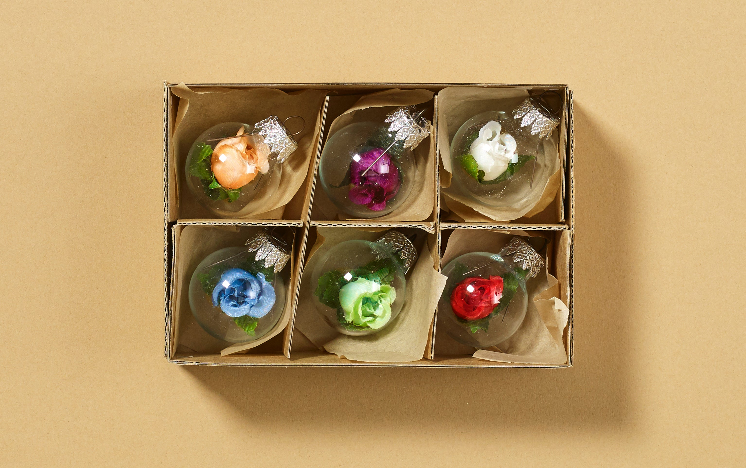 Christmas Ornaments, Box of Roses