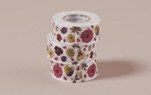 Pressed Flowers MT Masking Tape