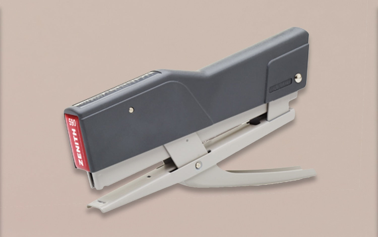 Hand Held Grey Zenith 6/4 Plier Stapler