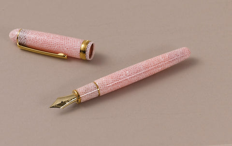 Pink Sakura Celluloid Platinum 3776 Fountain Pen