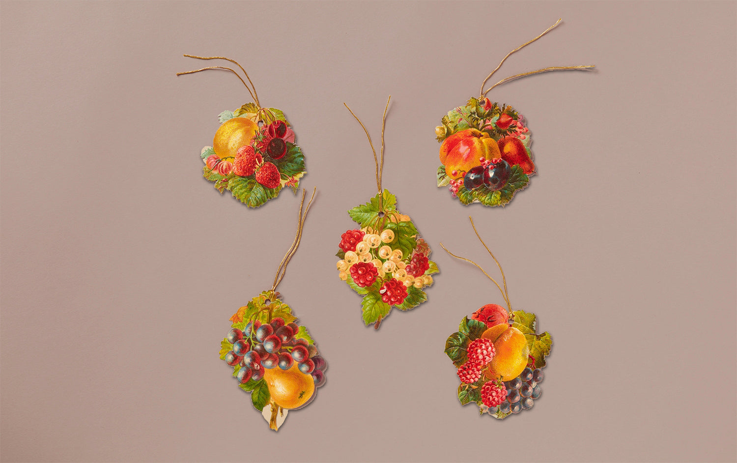 5 Fruits Gift Tags