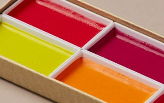 Japanese Fluorescent Watercolour Set