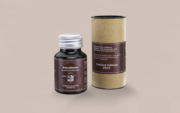Limited Edition German Fountain Pen Ink 50ml  - Maroon