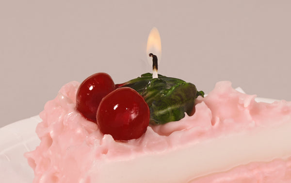 Cherry Cake Candle