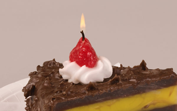 Chocolate Cake Candle