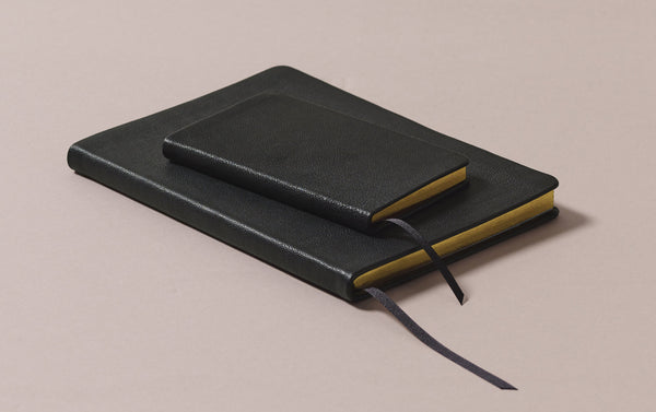 Leather Bound Choosing Keeping Notebook