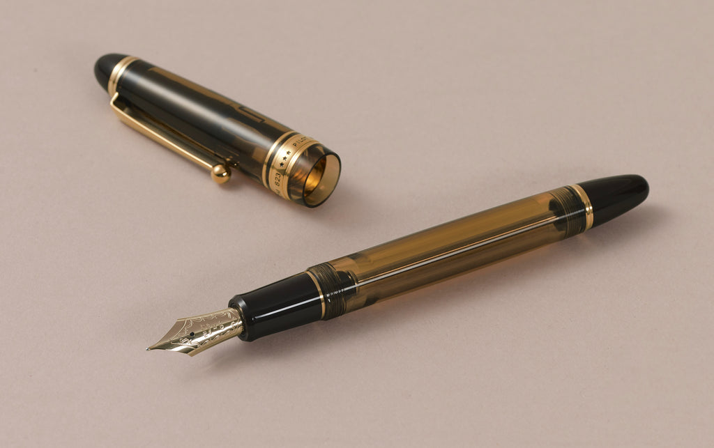 Caramel Pilot Custom 823 Vacuum-Fill Fountain Pen