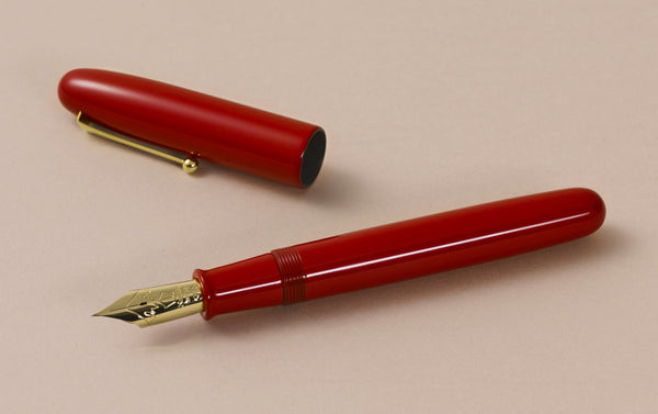 Namiki Emperor Vermillion Fountain Pen, Fine Medium