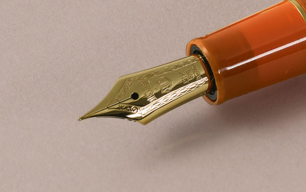 Orange Sailor Professional Gear 21k Fountain Pen