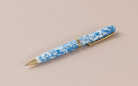 Ohnishi Seisakusho Sky and Clouds Acetate Ballpoint Pen