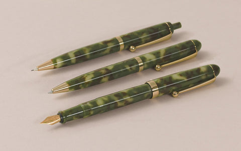 Ohnishi Seisakusho Camouflage Acetate Fountain Pen