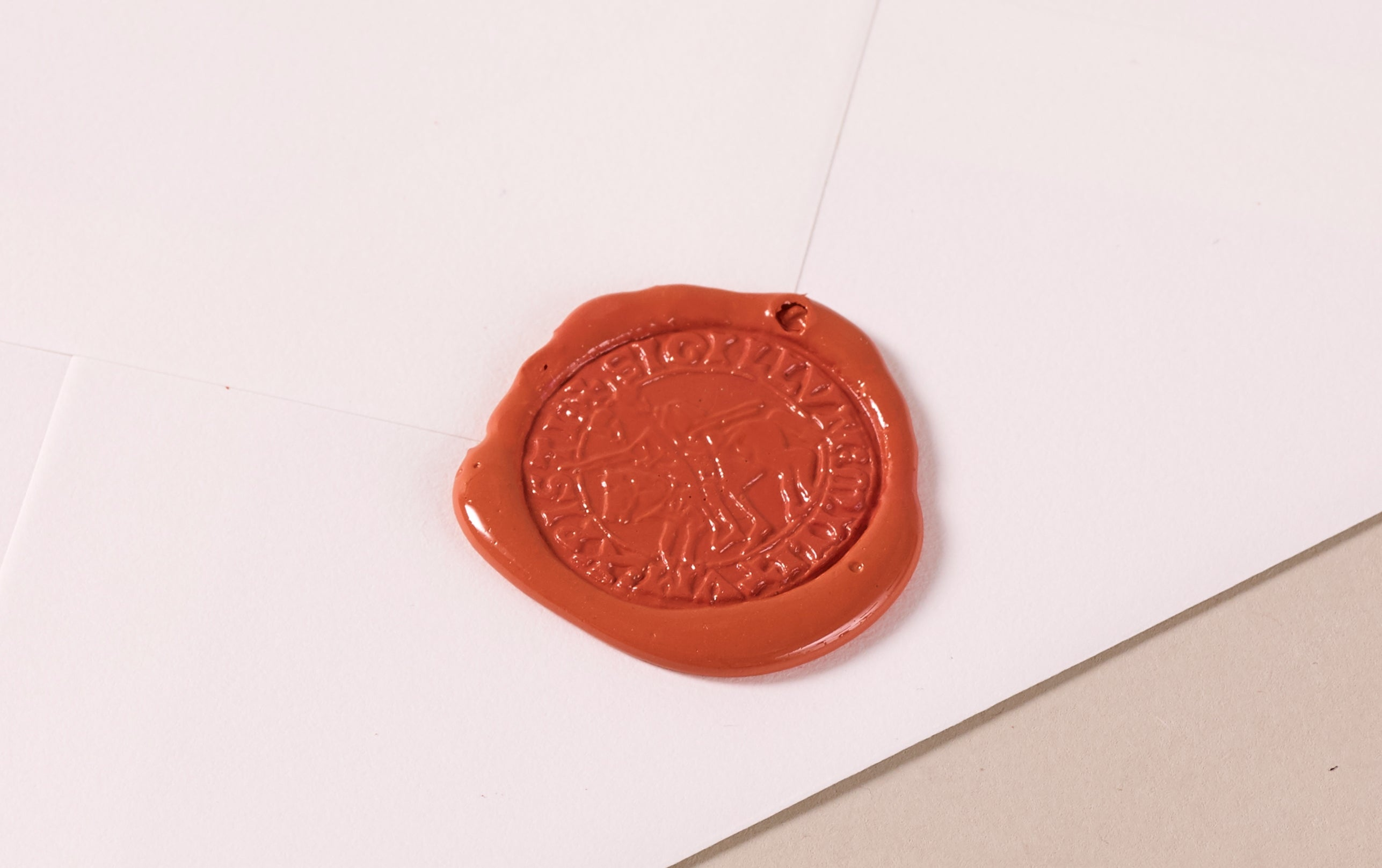 French Wax Seal, Knight of Templar
