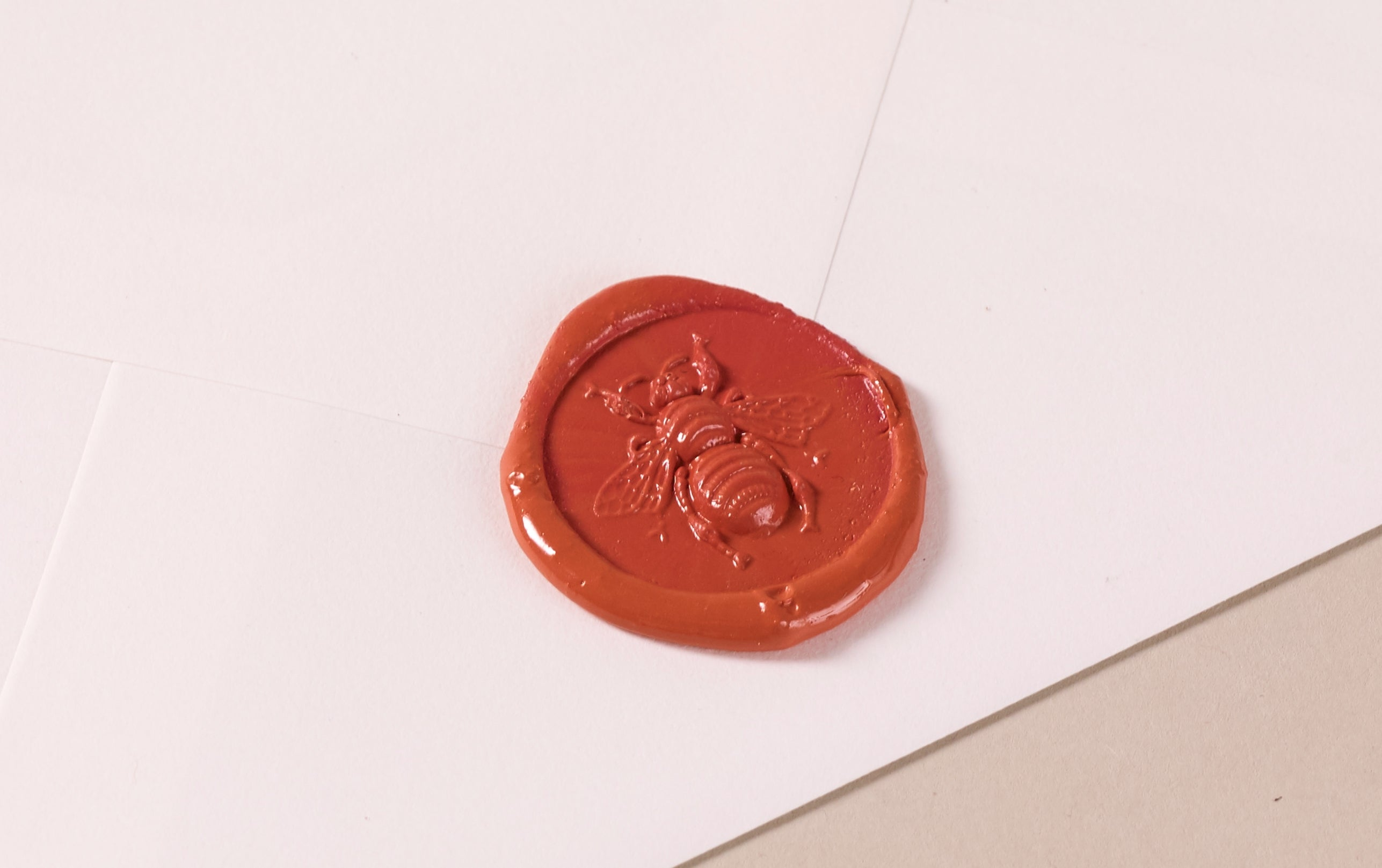 French Wax Seal, Honey Bee