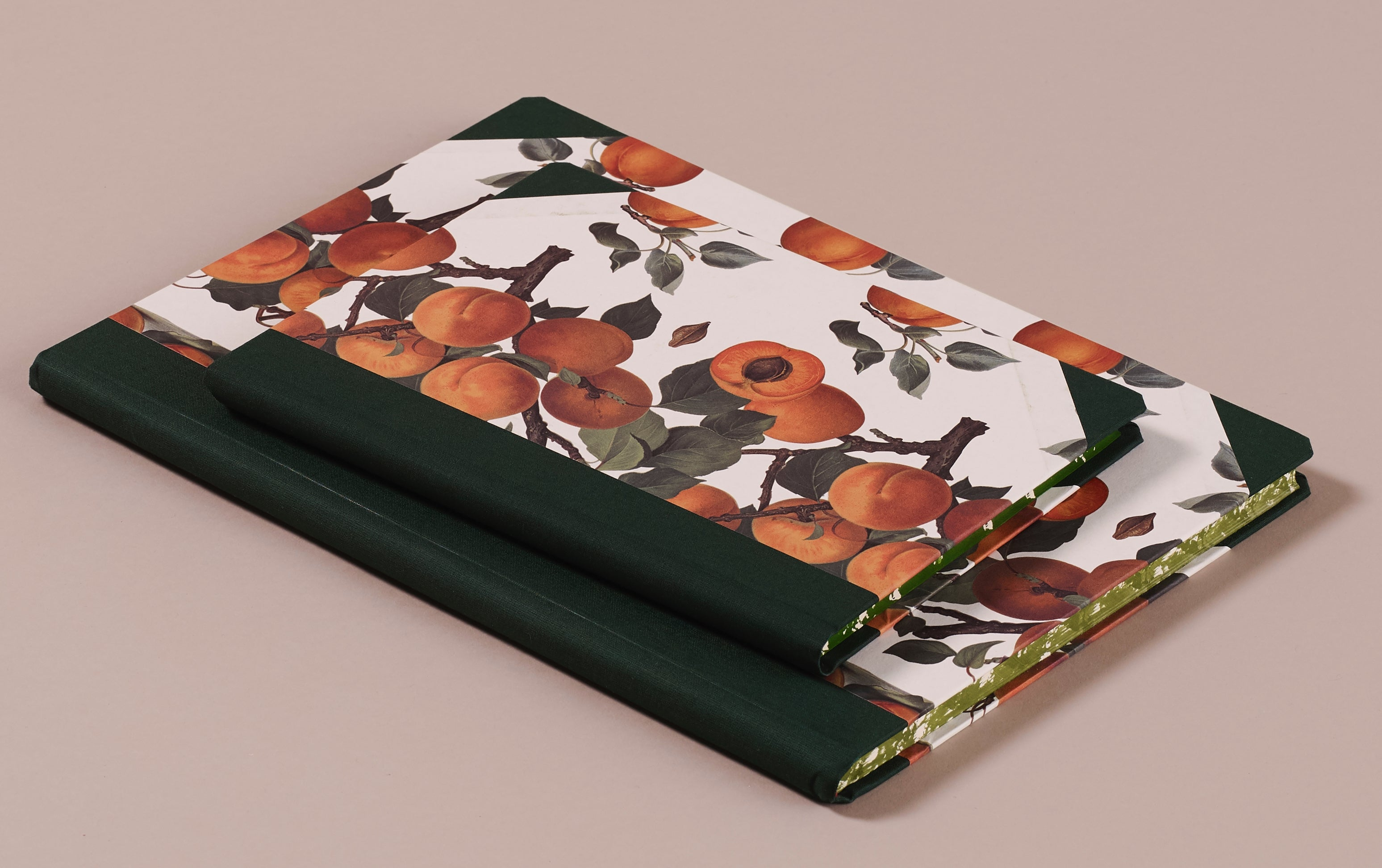 "Hardback ""Composition Ledger"" Notebook, Apricots"