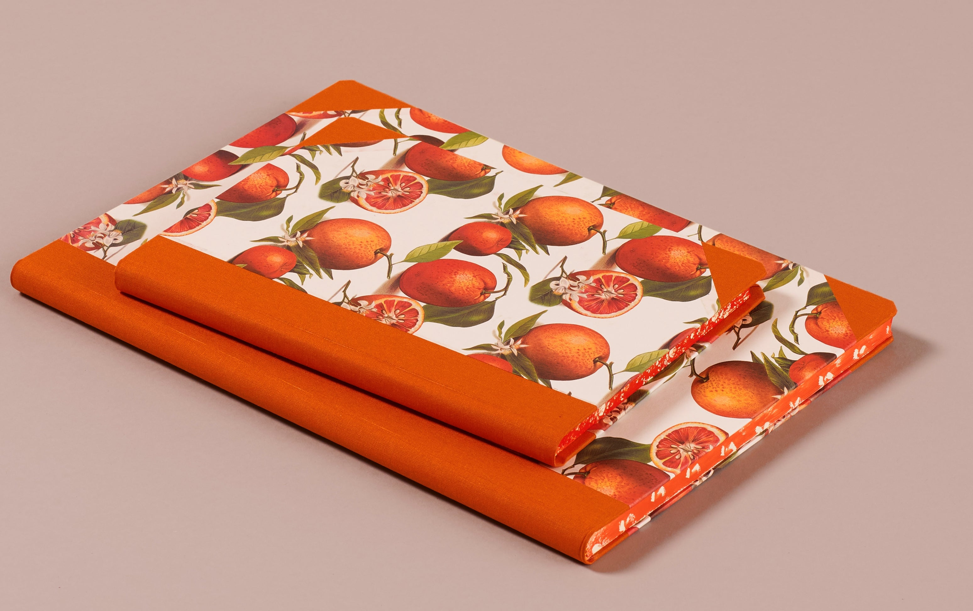 "Hardback ""Composition Ledger"" Notebook, Oranges"