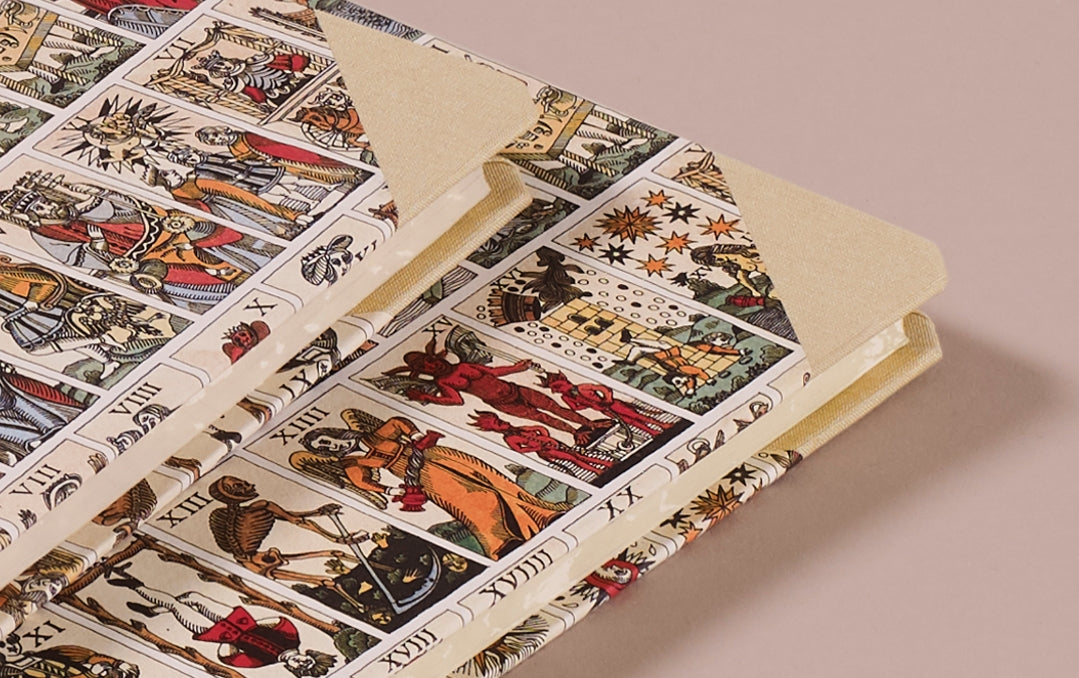"Hardback ""Composition Ledger"" Notebook, Tarot"
