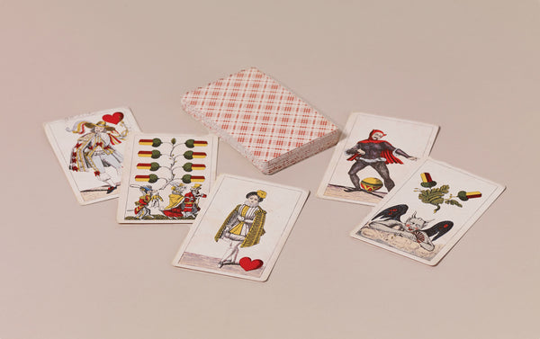 Historical Playing Cards, Russian Pattern