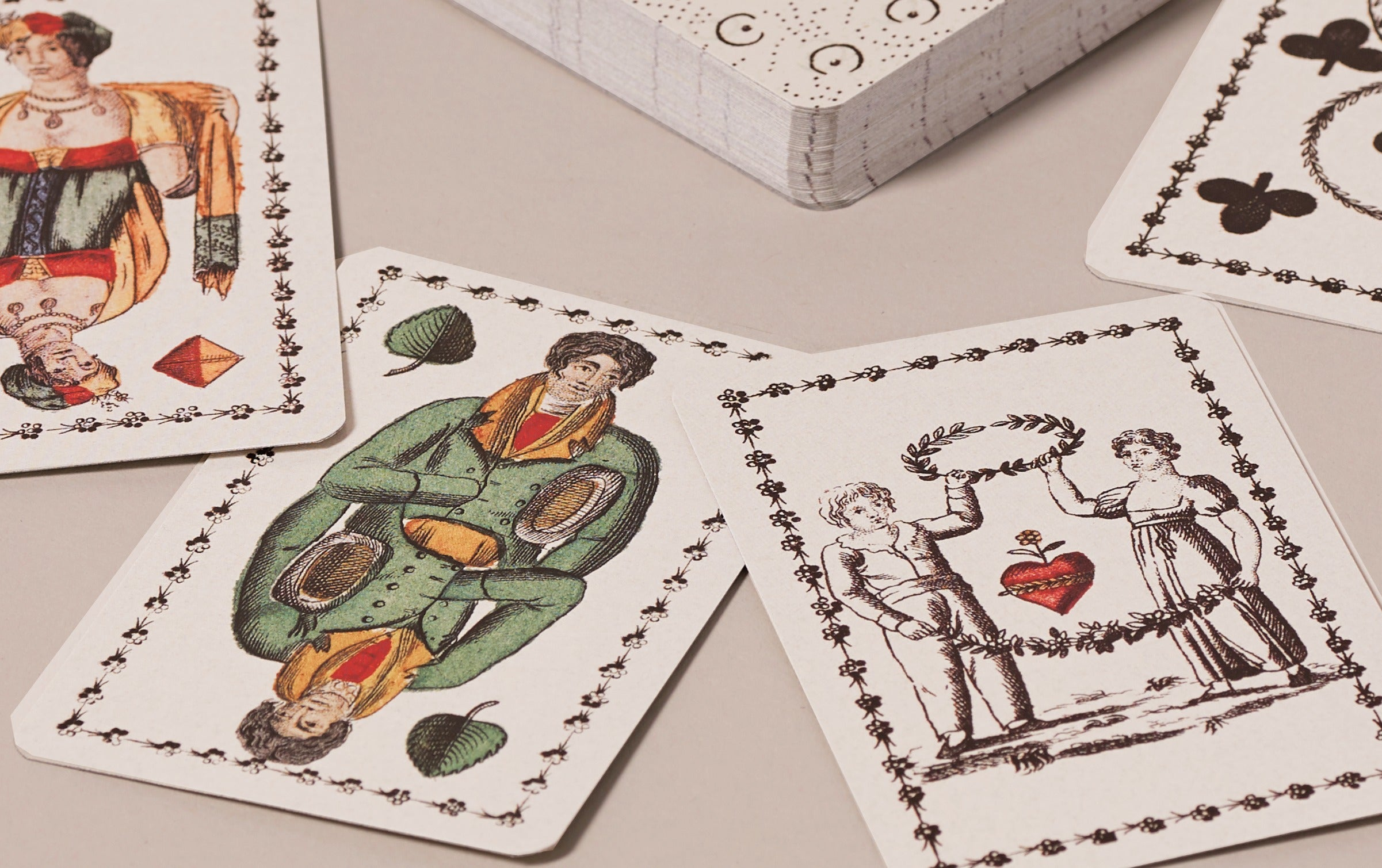 Historical Playing Cards, French Josephine Pattern