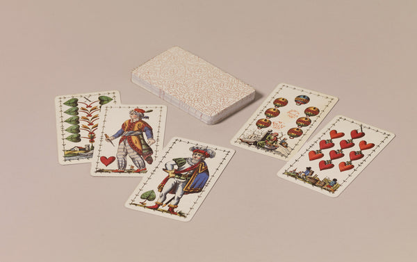 Historical Playing Cards, Viennese pattern