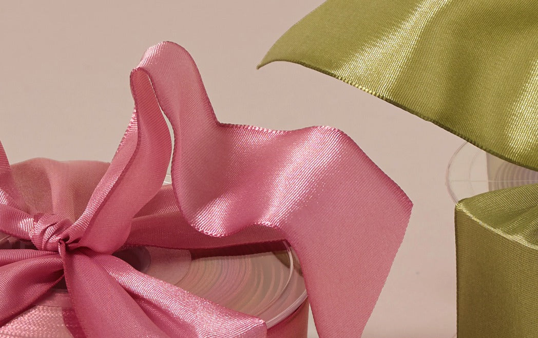Premium Decorative Ribbon, 20m roll - Wide Wire Edge Taffeta