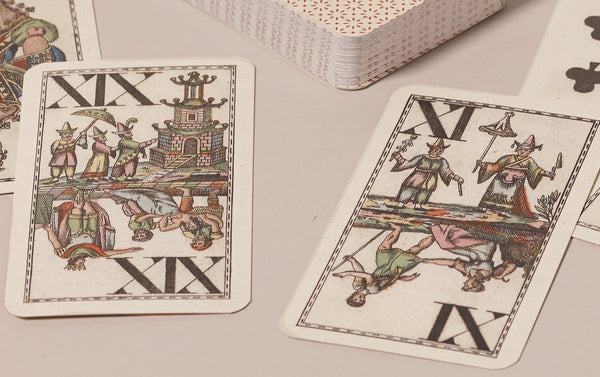 Historical Playing Cards, Chinoiserie pattern