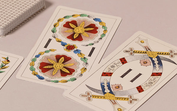 Historical Trapulka Playing Cards, Venetian Pattern