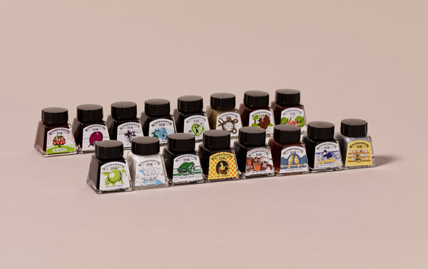 Drawing Ink Set, 16 Colours