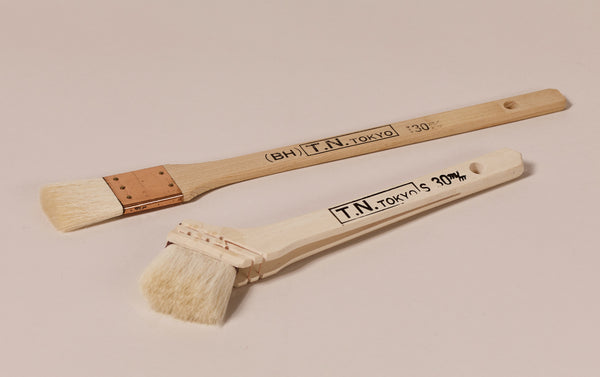 Natural Bristle Japanese Craft Paint brushes
