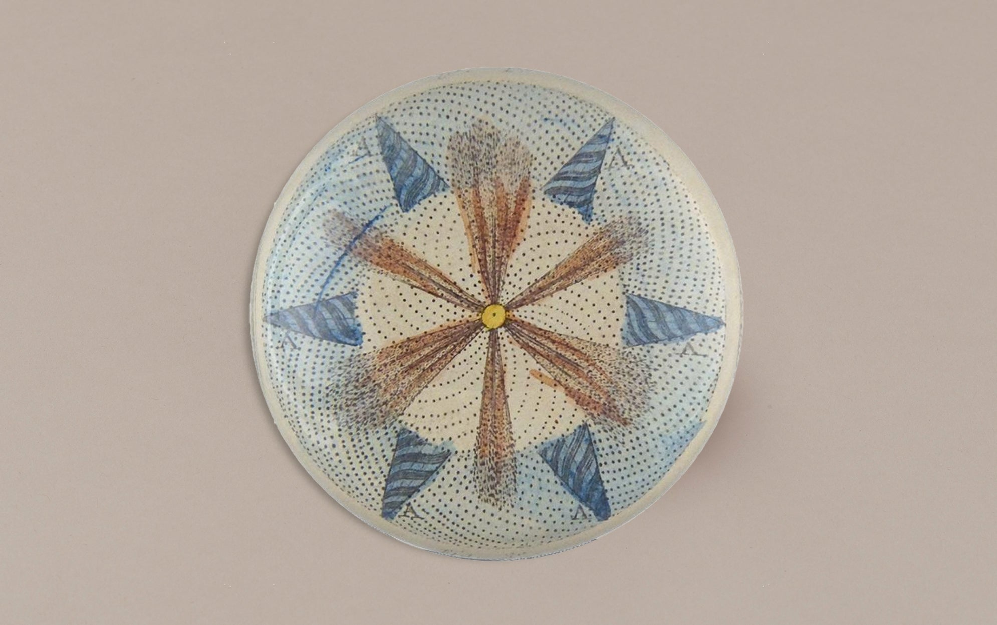 John Derian Paperweight, Fountain Top