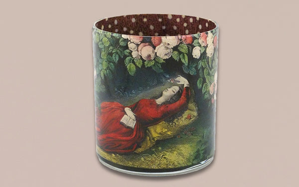 John Derian Desk Pencil Cup, Sleeping Beauty