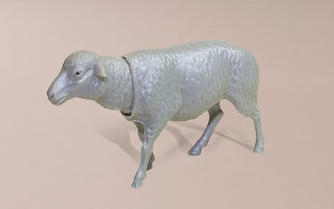 Bobble Head Nostalgic Grey Sheep
