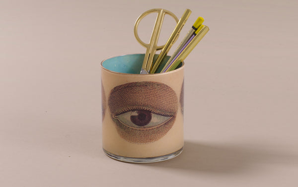 John Derian Desk Pencil Cup, Eyes