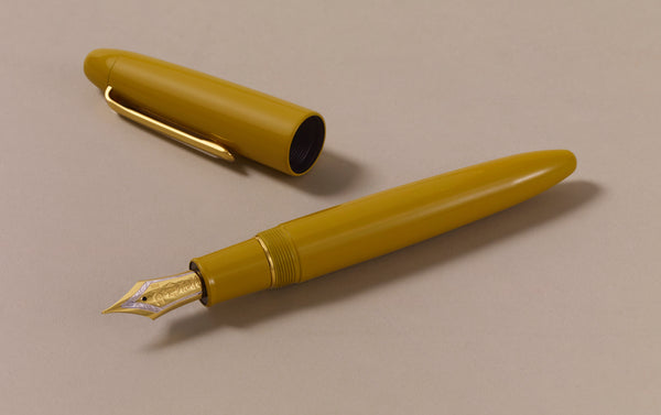 Sailor Urushi King of Pens Fountain pen, Kuchiha-iro Yellow