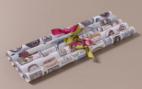 Georgian Decoupage and Wrapping Paper, Motif 3