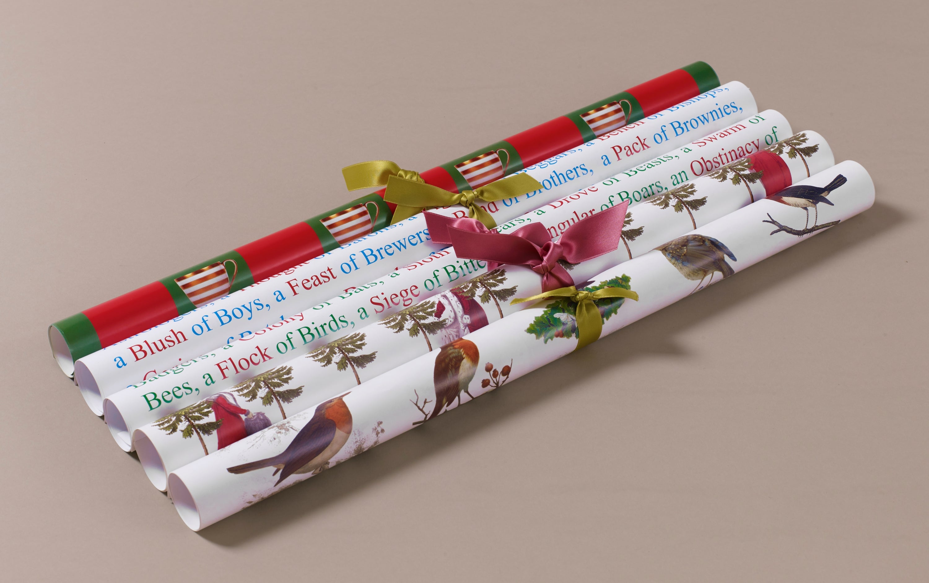 Georgian Decoupage and Wrapping Paper, Christmas Motif