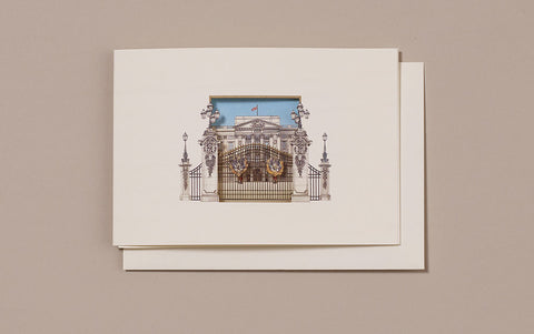 Buckingham Palace Window Greeting Card