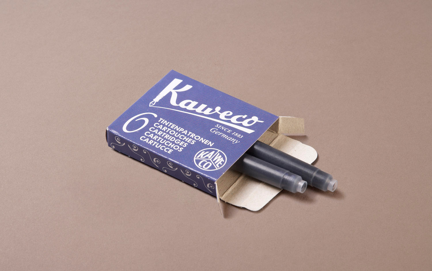 Royal Blue Kaweco 6 Pack Ink Cartridges