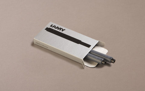 Black Lamy 5 Pack Ink Cartridges