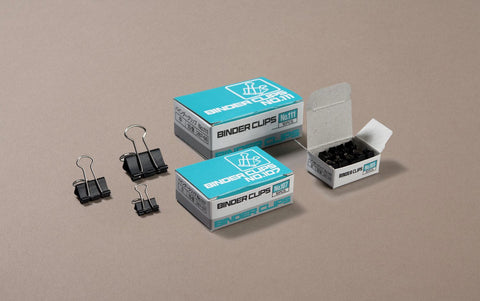 Black Oxyde Binder Paper Clips