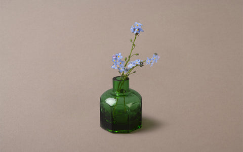 Hand Blown Kurashiki Glass Bottle
