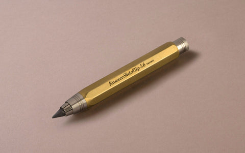 Brass Kaweco Sketch up 5.6mm Clutch Pencil