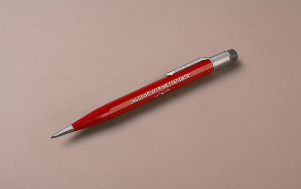 Red Choosing Keeping 1.1mm Mechanical Pencil