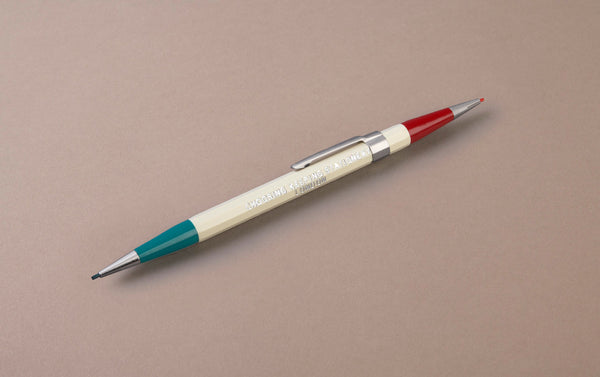 Ivory Choosing Keeping Twin 1.1mm Mechanical Pencil - Red and Green