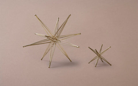 Bronze Foldable Desk Star Sculptures