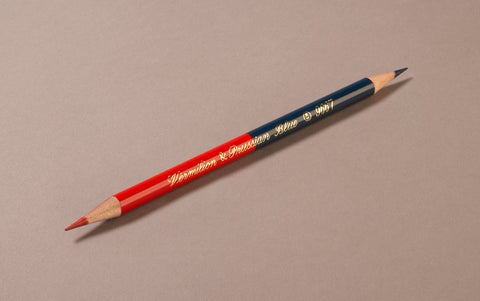 Red and Blue Kitaboshi Editor's Pencil